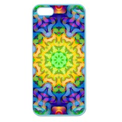 Psychedelic Abstract Apple Seamless Iphone 5 Case (color) by Colorfulplayground