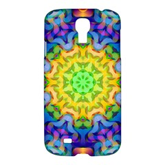 Psychedelic Abstract Samsung Galaxy S4 I9500/i9505 Hardshell Case by Colorfulplayground