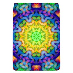 Psychedelic Abstract Removable Flap Cover (large) by Colorfulplayground