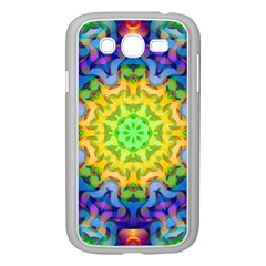 Psychedelic Abstract Samsung Galaxy Grand Duos I9082 Case (white) by Colorfulplayground