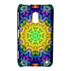 Psychedelic Abstract Nokia Lumia 620 Hardshell Case by Colorfulplayground