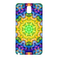 Psychedelic Abstract Samsung Galaxy Note 3 N9005 Hardshell Back Case by Colorfulplayground