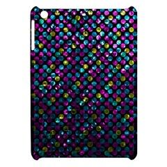 Polka Dot Sparkley Jewels 2 Apple iPad Mini Hardshell Case by MedusArt