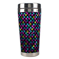 Polka Dot Sparkley Jewels 2 Stainless Steel Travel Tumbler by MedusArt