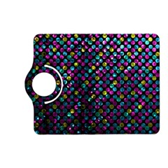 Polka Dot Sparkley Jewels 2 Kindle Fire Hd 7  (2nd Gen) Flip 360 Case