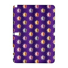 Flare Polka Dots Samsung Galaxy Note 10 1 (p600) Hardshell Case by Colorfulplayground