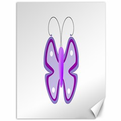 Cute Awareness Butterfly Canvas 36  X 48  (unframed) by FunWithFibro