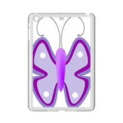 Cute Awareness Butterfly Apple Ipad Mini 2 Case (white) by FunWithFibro