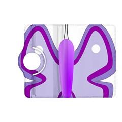 Cute Awareness Butterfly Kindle Fire Hd 7  (2nd Gen) Flip 360 Case