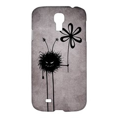 Evil Flower Bug Vintage Samsung Galaxy S4 I9500/i9505 Hardshell Case by CreaturesStore