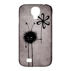 Evil Flower Bug Vintage Samsung Galaxy S4 Classic Hardshell Case (PC+Silicone) by CreaturesStore