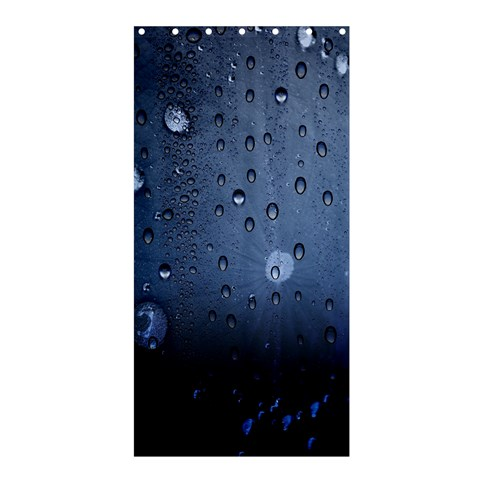 Water Drop By Divad Brown   Shower Curtain 36  X 72  (stall)   I0ftestiw0k9   Www Artscow Com 33.26 x66.24 Curtain