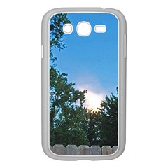 Coming Sunset Accented Edges Samsung Galaxy Grand Duos I9082 Case (white) by Majesticmountain