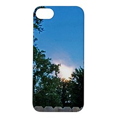 Coming Sunset Accented Edges Apple Iphone 5s Hardshell Case by Majesticmountain
