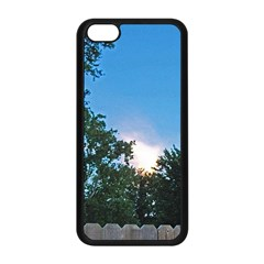 Coming Sunset Accented Edges Apple Iphone 5c Seamless Case (black) by Majesticmountain