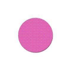 Pink Kaleidoscope Golf Ball Marker by Khoncepts