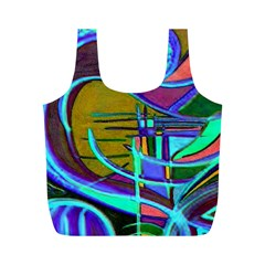 Newcolorflarenbag By Jean Petree   Full Print Recycle Bag (m)   F55ucda9r2sh   Www Artscow Com Front