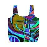 newcolorflarenbag - Full Print Recycle Bag (M)