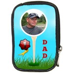 Golf Dad compact camera case - Compact Camera Leather Case