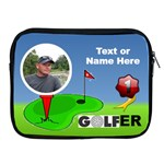 #1 Golfer Apple iPad Zipper Case - Apple iPad 2/3/4 Zipper Case