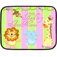Hadley Blanket By Sierra Nitz   Double Sided Fleece Blanket (mini)   3ae78l3acex2   Www Artscow Com 35 x27 Blanket Front