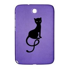 Purple Gracious Evil Black Cat Samsung Galaxy Note 8 0 N5100 Hardshell Case  by CreaturesStore