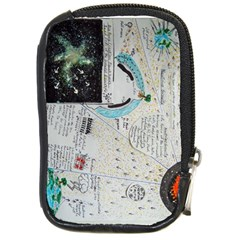 Neutrino Gravity, Compact Camera Leather Case by creationtruth
