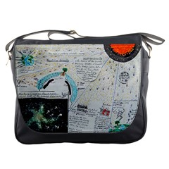 Neutrino Gravity, Messenger Bag by creationtruth