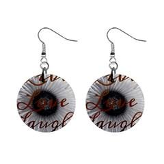Live Love Laugh Mini Button Earrings
