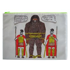 Big Foot & Romans Cosmetic Bag (xxl) by creationtruth