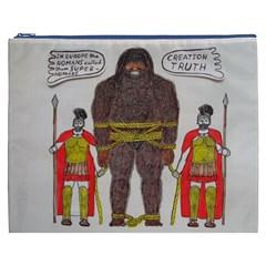 Big Foot & Romans Cosmetic Bag (xxxl) by creationtruth