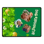 st patrick s Day - Double Sided Fleece Blanket (Small)