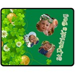 st patrick s Day - Double Sided Fleece Blanket (Medium)