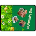 st patrick s Day - Double Sided Fleece Blanket (Large)