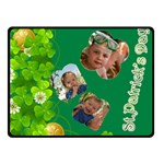 st patrick s Day - Fleece Blanket (Small)
