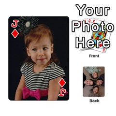 Jack 2014 Cards By Diane   Playing Cards 54 Designs   Pmj73fmc3u3o   Www Artscow Com Front - DiamondJ