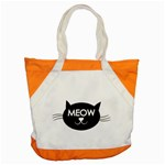 Meow cat - Accent Tote Bag