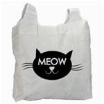 Meow cat - Recycle Bag (One Side)
