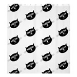 meow cat - Shower Curtain 66  x 72  (Large)