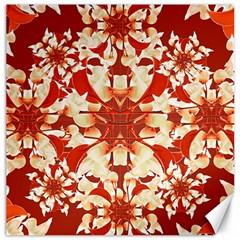 Digital Decorative Ornament Artwork Canvas 20  X 20  (unframed) by dflcprints