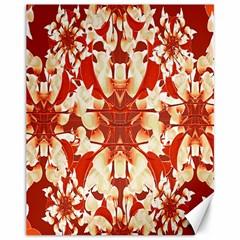 Digital Decorative Ornament Artwork Canvas 11  X 14  (unframed) by dflcprints