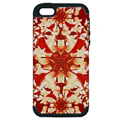 Digital Decorative Ornament Artwork Apple Iphone 5 Hardshell Case (pc+silicone) by dflcprints