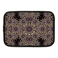 Luxury Ornament Refined Artwork Netbook Sleeve (medium) by dflcprints