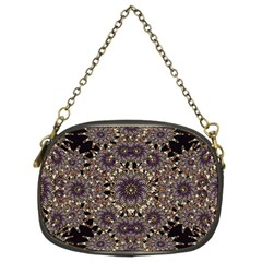 Luxury Ornament Refined Artwork Chain Purse (two Sided)  by dflcprints