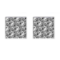Flower Lace Cufflinks (Square) by rokinronda