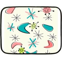Atomic New 11 Mini Fleece Blanket (two Sided) by GailGabel