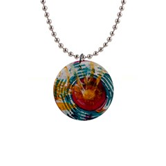 Art Therapy Button Necklace by StuffOrSomething