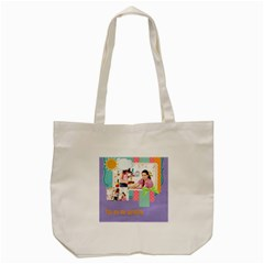 Kids By Kids   Tote Bag (cream)   Wpxolciveu21   Www Artscow Com Front