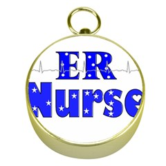 Er Nurse  Gold Compass by GailGabel