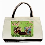 family - Basic Tote Bag (Two Sides)